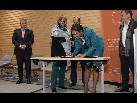 Presidente Duque en la clausura del Encuentro de Empresarios Naranja de Bogotá - 14/Ago/2019