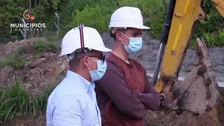 TV MUNICIPIOS – ALC.DE CÁQUEZA–CUND. HABLA SOBRE LA CONSTRUCCIÓN DEL ACUEDUCTO MUNICIPAL
