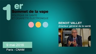 BENOIT VALLET : Directeur Général de la santé