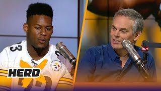 JuJu Smith-Schuster joins Colin to talk Darnold, LeBron, Tomlin and more   THE HERD