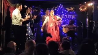 Una noche muy especial en el Tablao Flamenco La Quimera con el Coro de la Universidad de Colorado.