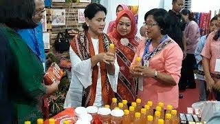 Iriana Tolak Pemberian Kenari hingga Kain dari Pengusaha Dekranasda Maluku