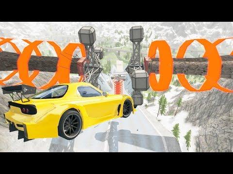 Crazy Jumps #1 – BeamNG Drive Crashes   CrashTherapy