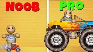 Kick the Buddy: NOOB vs PRO | Machines