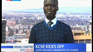Atleast 17 counties put on the spot over integrity of the KCSE exams that kicked off this morning