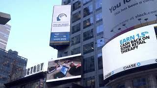 NeurOptimal® on Times Square !!