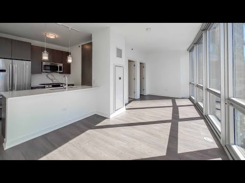 A Streeterville S5 studio at the new, high-amenity 465 North Park