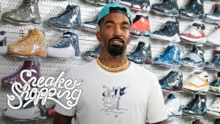 JR Smith Goes Sneaker Shopping With Complex | Kholo.pk