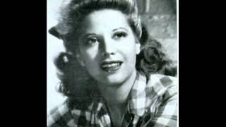 Dinah Shore - I Don't Want To Walk Without You 1942