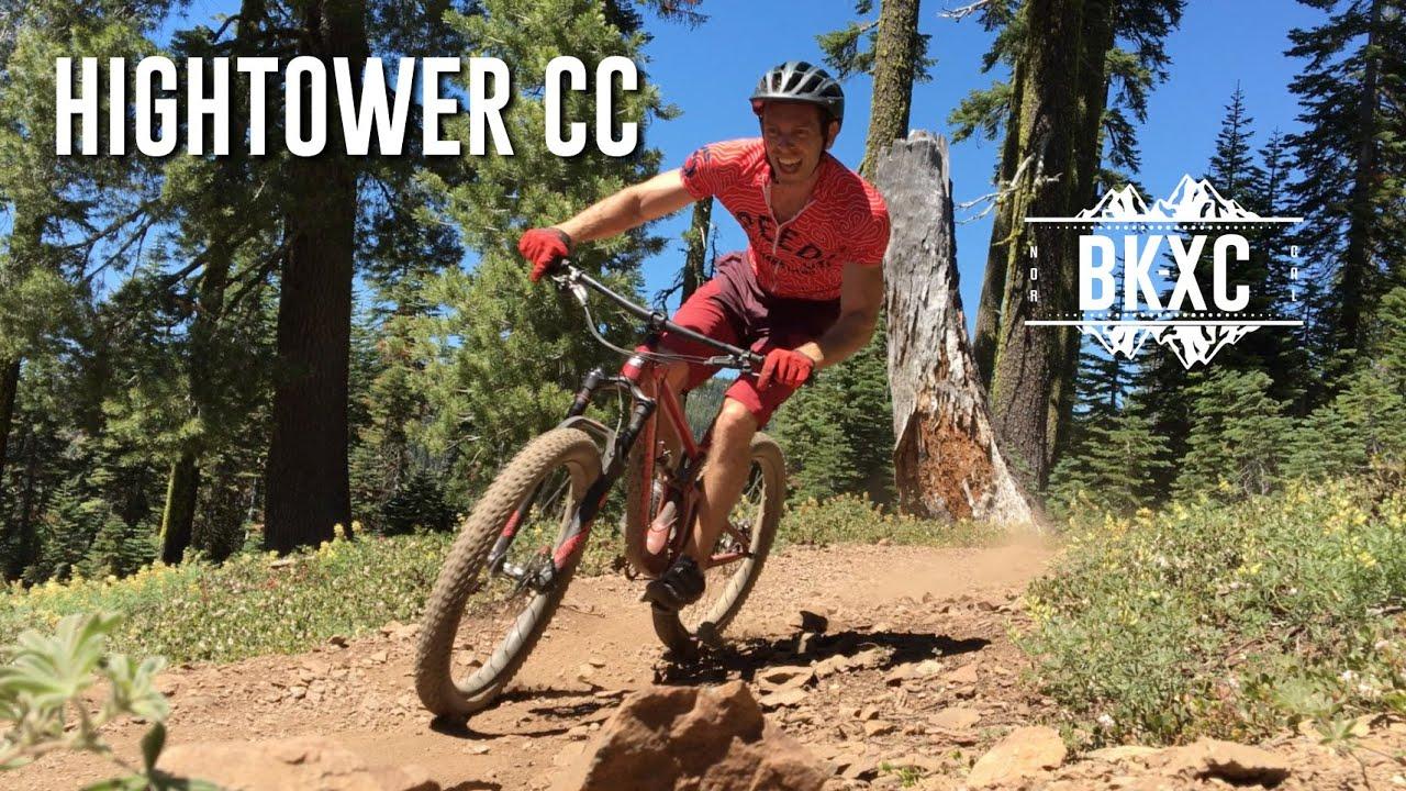 2016 Santa Cruz Hightower CC 27.5+ MTB Test Ride