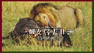 [中字] !!!獅子係我面前廝殺!!!|一個女仔去非洲 EP 3|KENYA VLOG|RedisPolly