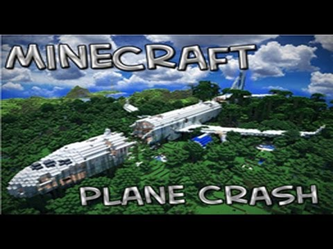Download Minecraft Adventure Map | The Plane Crash | W/Squid & Paul | Part 1 HD Mp4 3GP Video and MP3