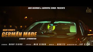 German Made | (Full HD) | Bhav Sidhu | New Punjabi Songs | Latest Punjabi Songs 2020 | Jass Records