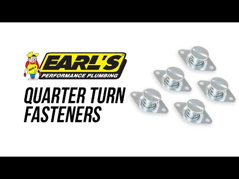 Earls Quarter Turn Fasteners & Tools