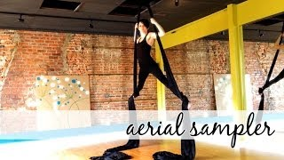 preview picture of video 'Aerial Sampler * Intro To Aerial Arts in Morristown NJ'