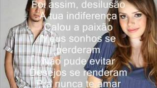 Desperdiçou - Sandy E Junior (Legendado)