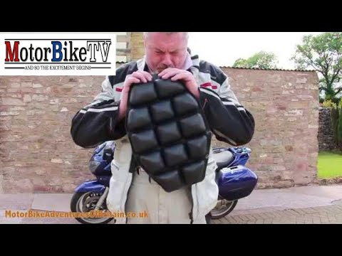 Airhawk Comfort Seating System Review MotorBike Adventures Of Britain