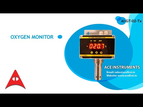 Online Oxygen Monitor For O2 Concentrators And Generators(0.0 To 100.0% Vol)