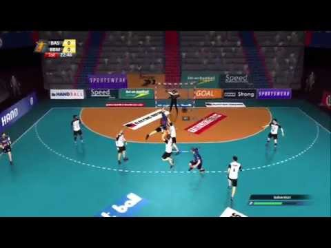 Handball 16 (PS3) - first 30 minutes of gameplay, career, local play, season (no commentary)