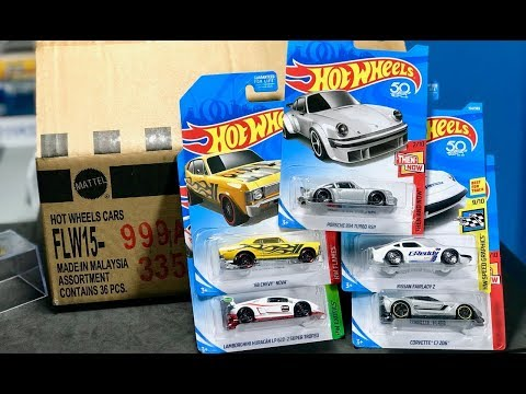 Lamley Unboxing: Hot Wheels February 2018 Kmart Collectors 36-Count Case