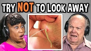 ELDERS REACT TO TRY NOT TO LOOK AWAY CHALLENGE