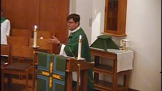Hope Lutheran Cranberry - September 10, 2017 - Pastor Ron Brown