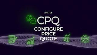 Apttus CPQ video