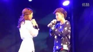 Tina And Aom Singing Sob Ta