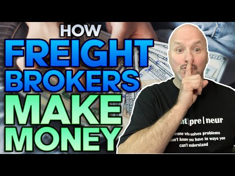 Freight Broker Training - How Do Freight Brokers Make Money [Step By Step Walk Thru]