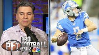 PFT Overtime: Matthew Stafford trade rumors, CBA talks | Pro Football Talk | NBC Sports