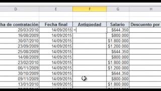 Nómina con horas extras en Excel (Excel básico 5)