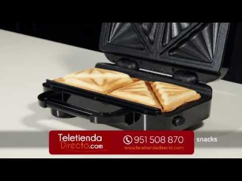 Sandwichera Doble con huecos grandes - Modelo 40 aniversario Breville