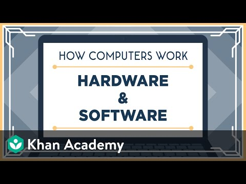 Hardware and Software (video) | Khan Academy