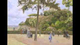 The Public Garden at Pontoise (Pissarro)