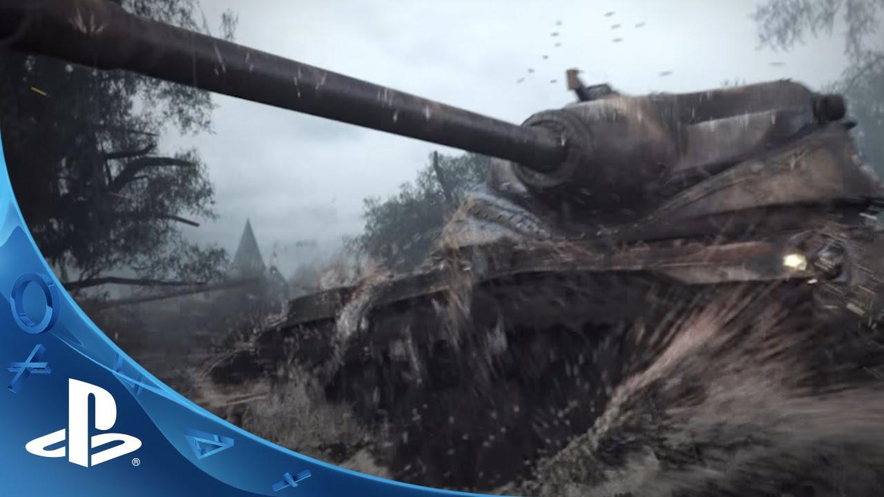 World of Tanks para 30 Jogadores e Grátis para Jogar Chegando ao PS4