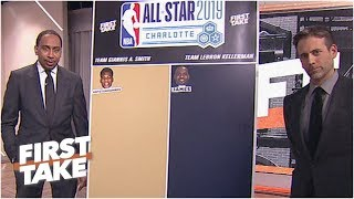 Stephen A. & Max mock draft LeBron's and Giannis' picks for the 2019 NBA All-Star Game | First Take