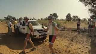 preview picture of video 'VÉLO AFRIQUE 2013 - DAG 3 - RIT 2 - Van Djourbel naar Loul'