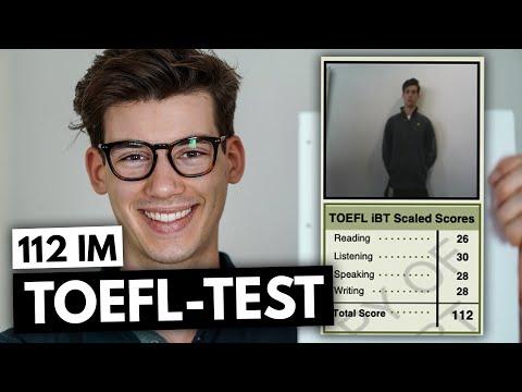 Wie ich 112 Punkte in meinem TOEFL geschrieben habe