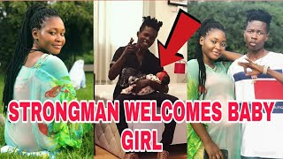 STRONGMAN AND NANA AMA WELCOME BABY GIRL