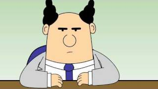 Dilbert Animated Cartoons   The Vicious Cycle, It's Called Managing And Documented Process
