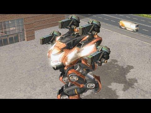 War Robots [3.6] Test Server - NEW Shotgun Weapon
