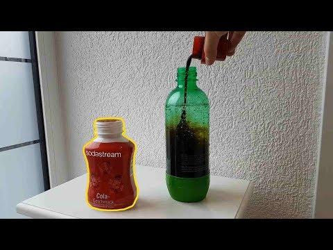 Sodastream Cola Sirup Taste Test - Deutsch   unboxinx