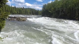 Рыбалка на реке кизир