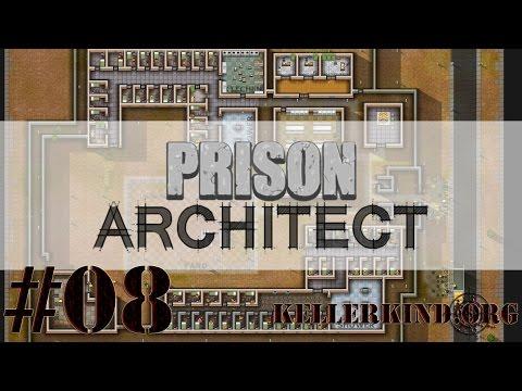 Prison Architect [HD] #008 – Lernen und Arbeiten ★ Let's Play Prison Architect