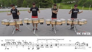 """2019 Boston Crusaders Tenors - LEARN THE MUSIC to """"Part 2"""""""