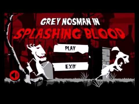 Video of super splashing blood