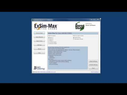 ICND1 640-822 Practice Exam - Boson - YouTube