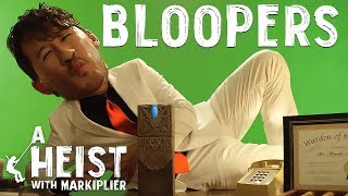 Here are almost all the funny bloopers and deleted scenes from A Heist with Markiplier!  Watch The Heist FIRST ►► https://www.youtube.com/watch?v=9TjfkXmwbTs  Thank you so much for watching the show! It's been such a treat to be able follow along as you discover each and every special surprise we had in store for you! And congratulations to everyone that managed to crack Darkiplier's code and find these Bloopers early! Thank you so much for being such amazing fans!