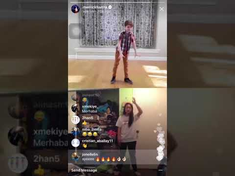 FIRST EVER Dance Collab on Instagram Live w/ Merrick Hanna & Jonelle