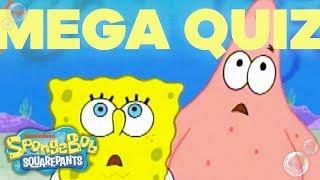 Can You Ace the Superfan Megaquiz Part 2⁉️ | SpongeBob